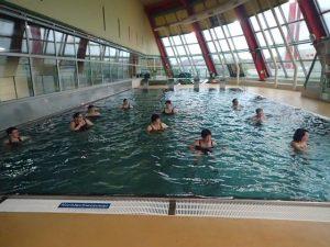 Aqua Zumba Training in der Sportunion Leonding